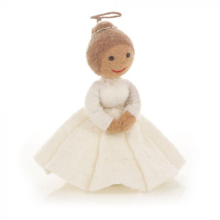 Felt Christmas Angel Tree Topper