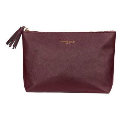 Fenella Smith Burgundy Washbag
