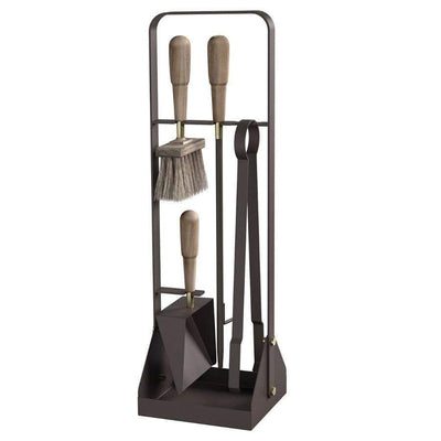 Fire Tool Set | Classic Walnut