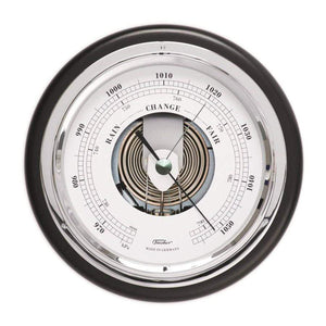 Fischer Barometer - Black & Chrome