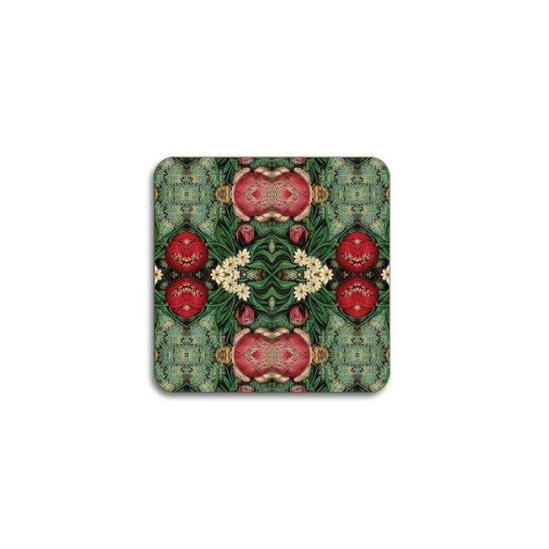 Flora Pink Bouquet Coaster - UK
