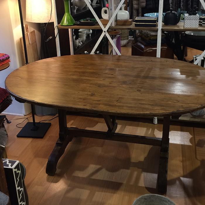 French Antique Vendange Table
