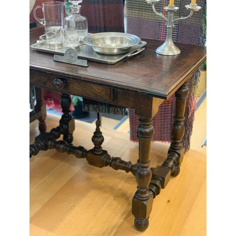 French Walnut Table - Antique c1800