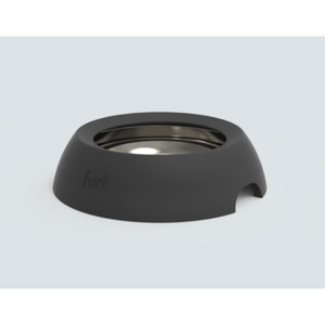 Furf Spill Resistant Pet Bowl Small / Black