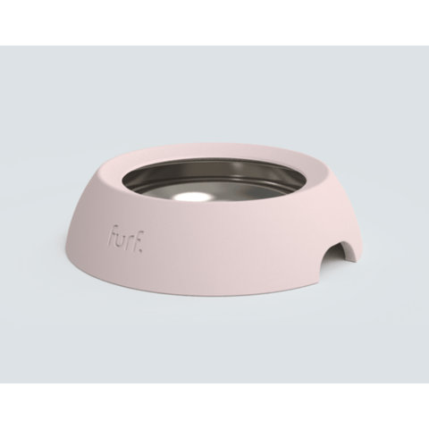 Furf Spill Resistant Pet Bowl Small / Pink