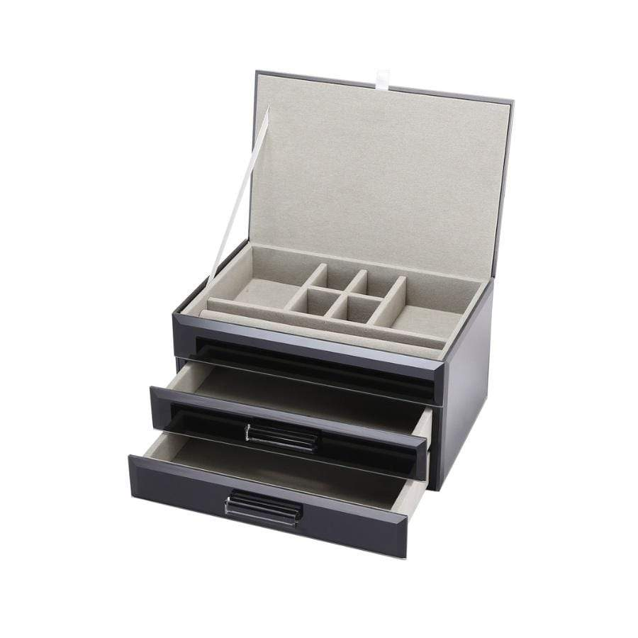 Gabriella - Jewellery Box - Medium Black