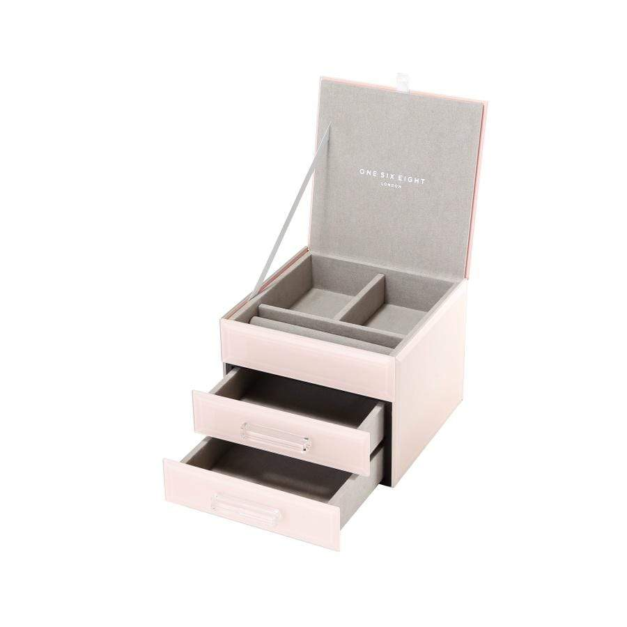 Gabriella - Jewellery Box- Small Blush