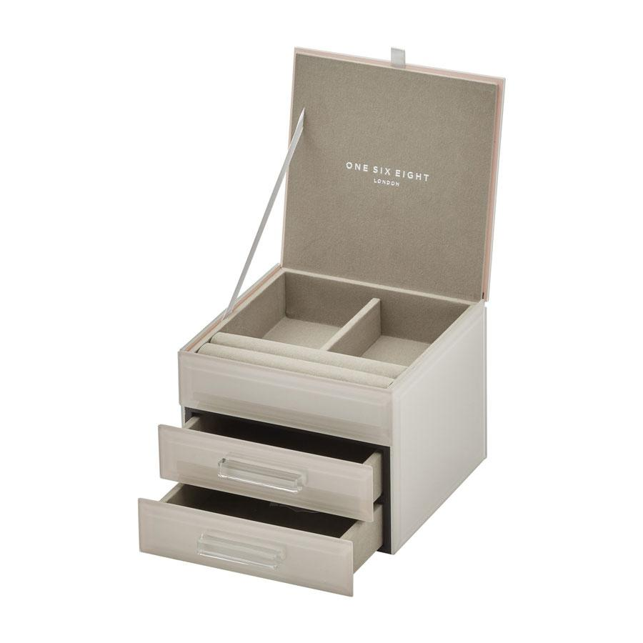 Gabriella Jewellery Box | Small | Off White