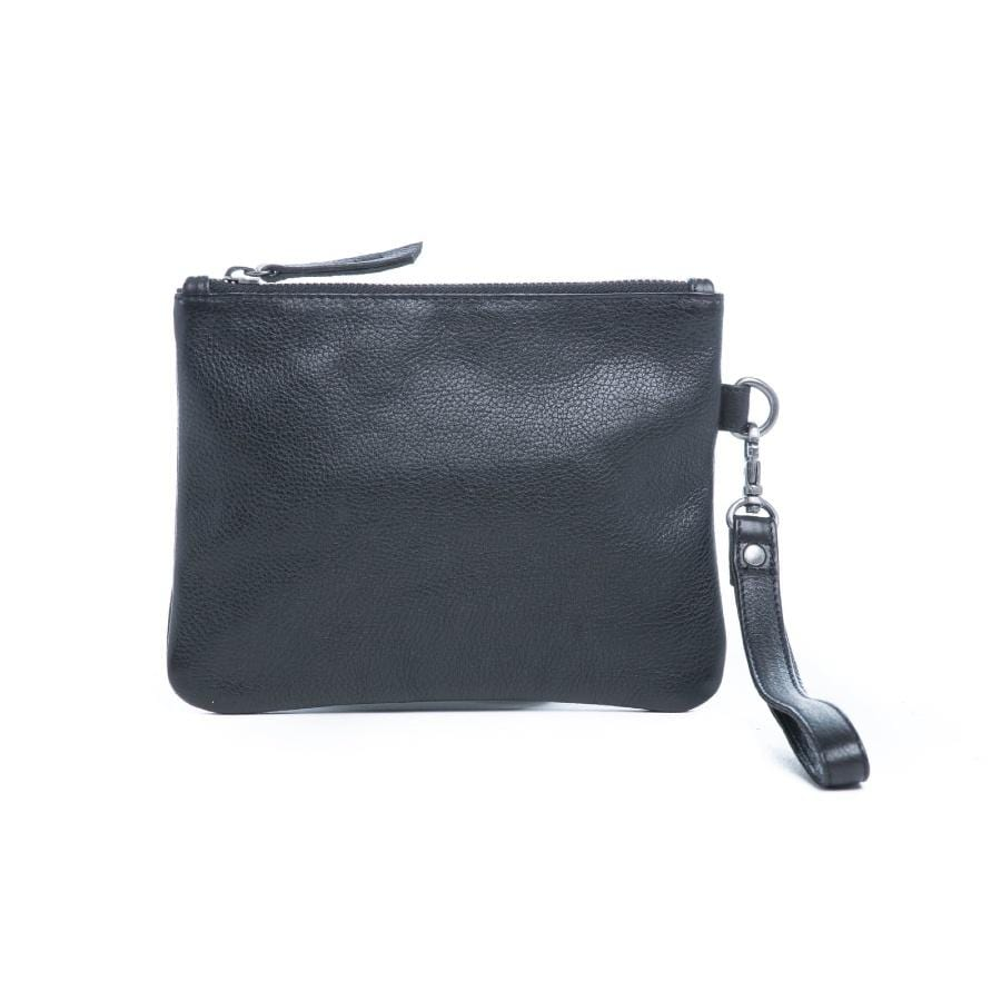 Gili Leather Clutch