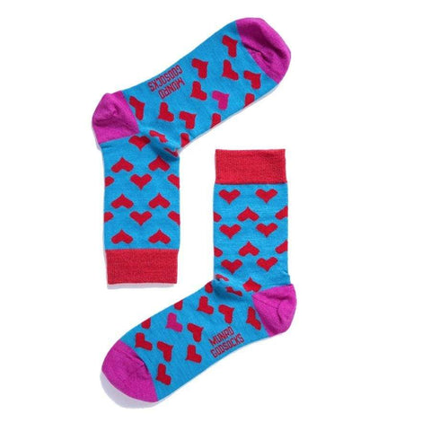 God Socks -Paris Red