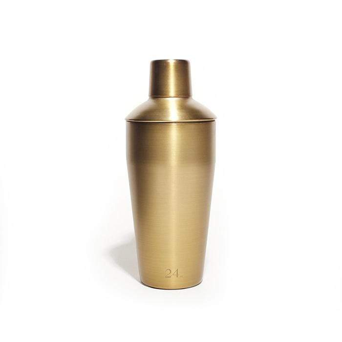 Gold 24oz Cocktail Shaker