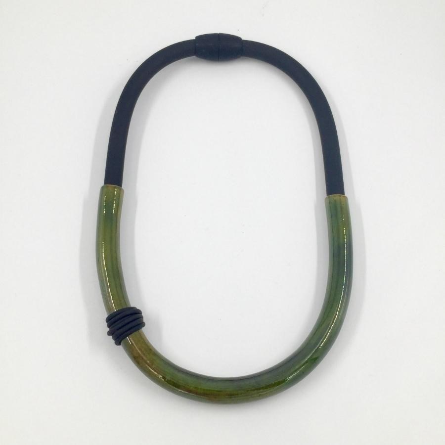 Green Cautero Necklace- 36G