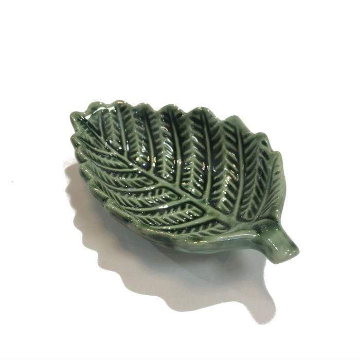 Green Fern Dip Bowl