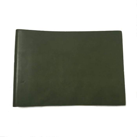 Green Il Papiro Leather Large Landscape Album