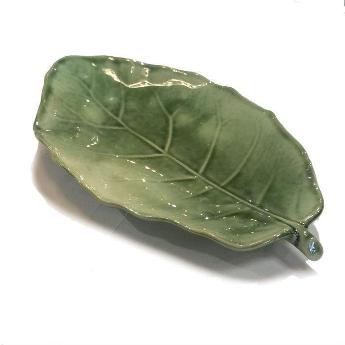 Green Puka Plate Medium