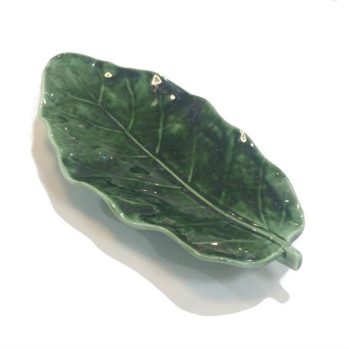 Green Puka Plate Small