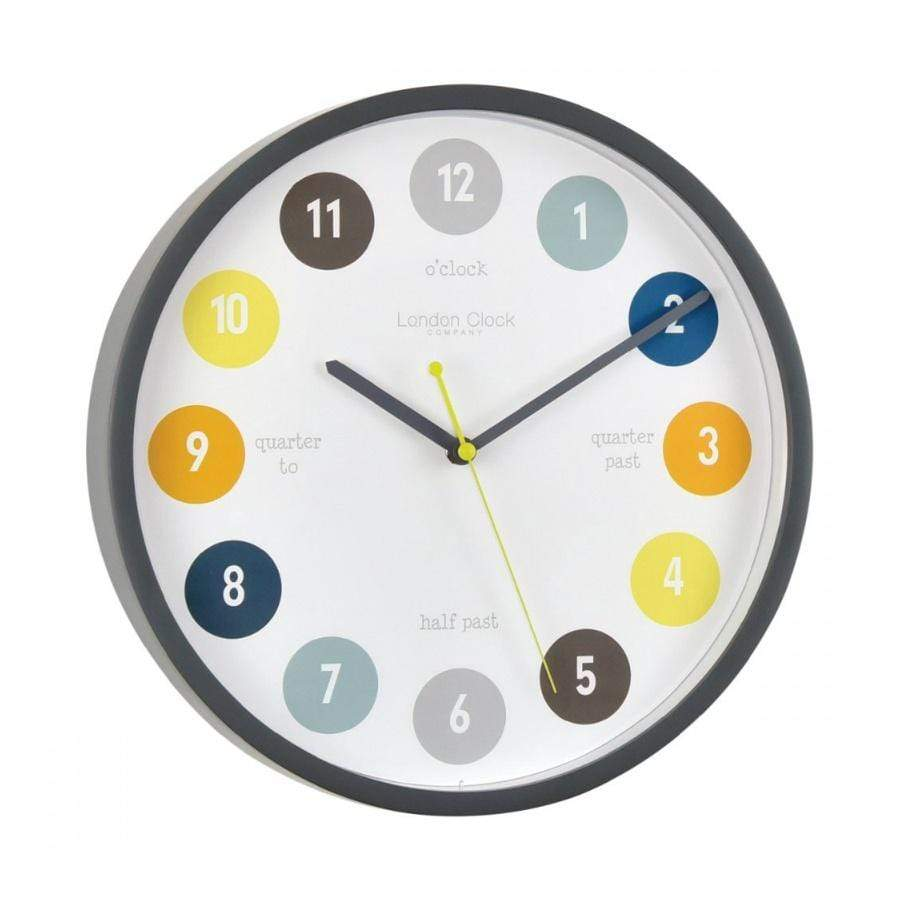 Grey London Wall Clock