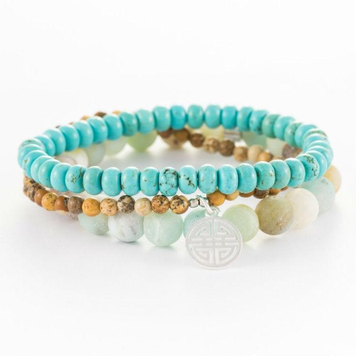 Hattie Sea Green Bracelet
