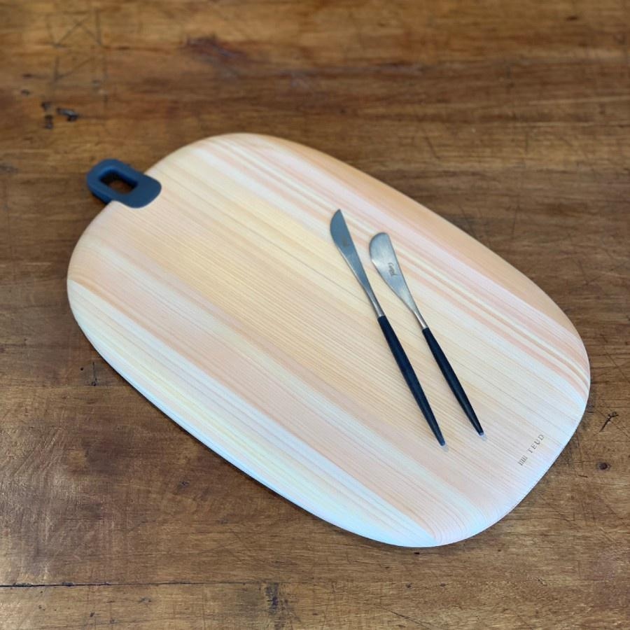 Hinoki Oval Cutting Board | Cypress Wood