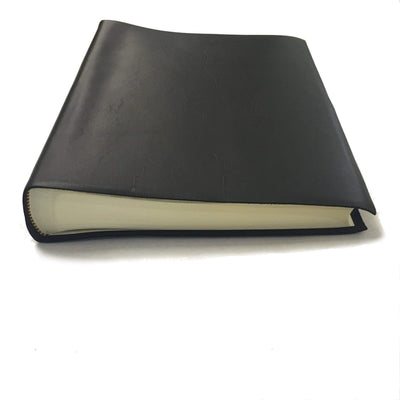 Il Papiro Large Leather Album / Black