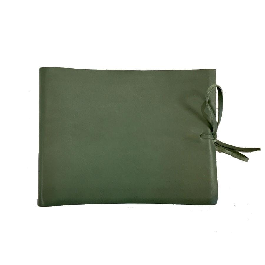 Il Papiro Leather Album / Green