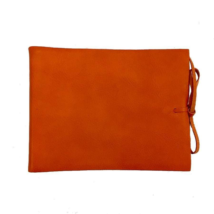Il Papiro Leather Album / Pumpkin
