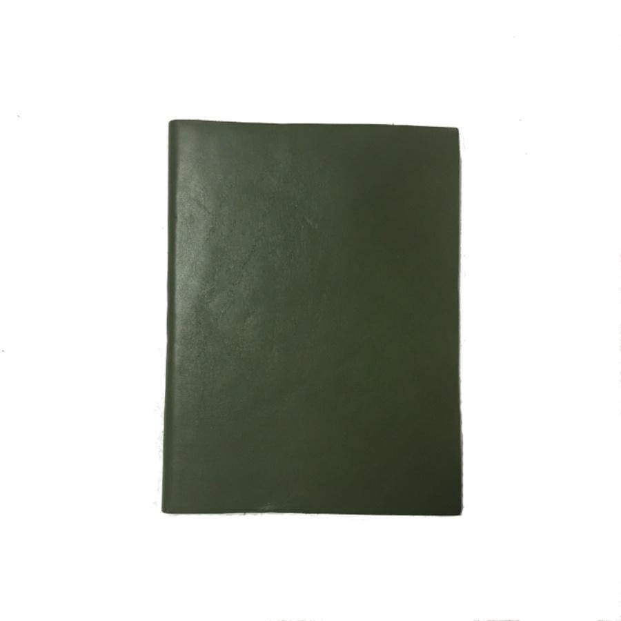 Il Papiro Leather Journal - Unlined / Green