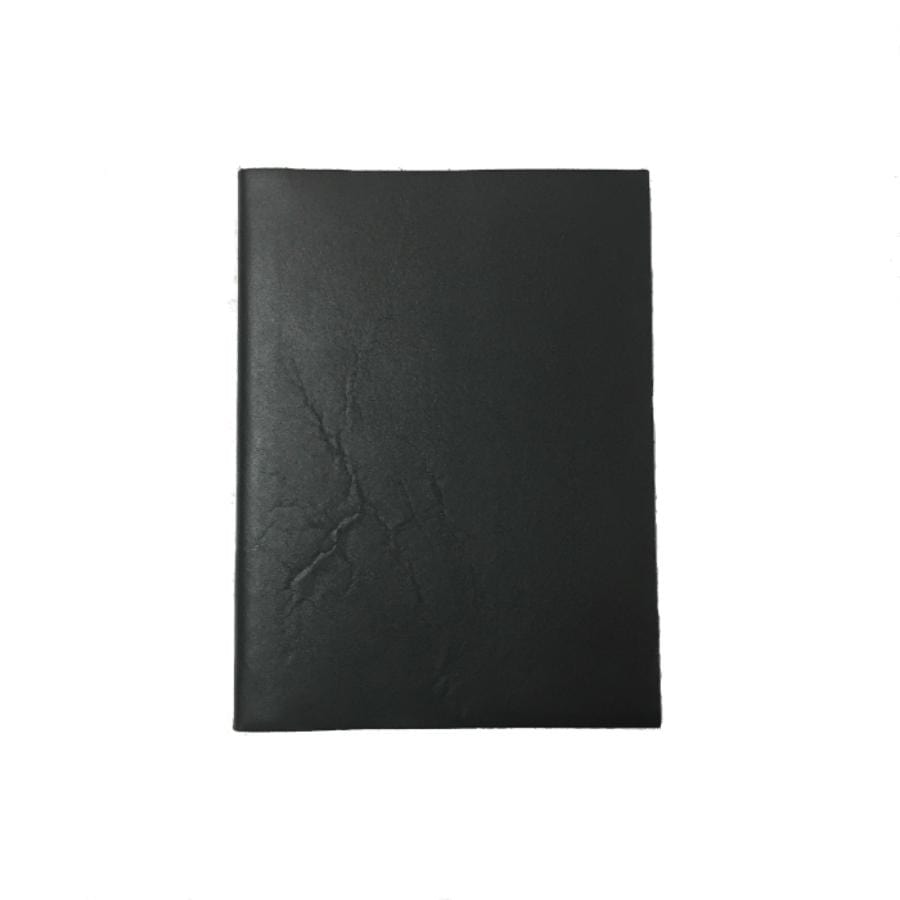 Il Papiro Leather Journal - Unlined / Nero