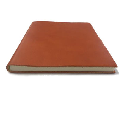 Il Papiro Leather Journal - Unlined / Pumpkin