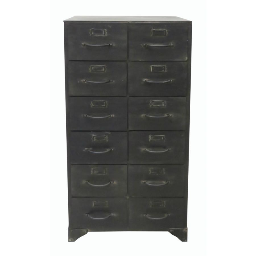 Industrial Style Filing Cabinet