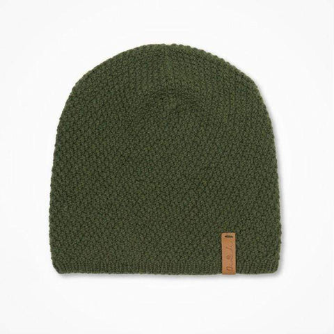 Ingrid Hat - Forest Green | Made in Nepal