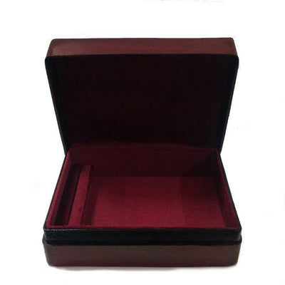 Italian Leather Jewellery Box