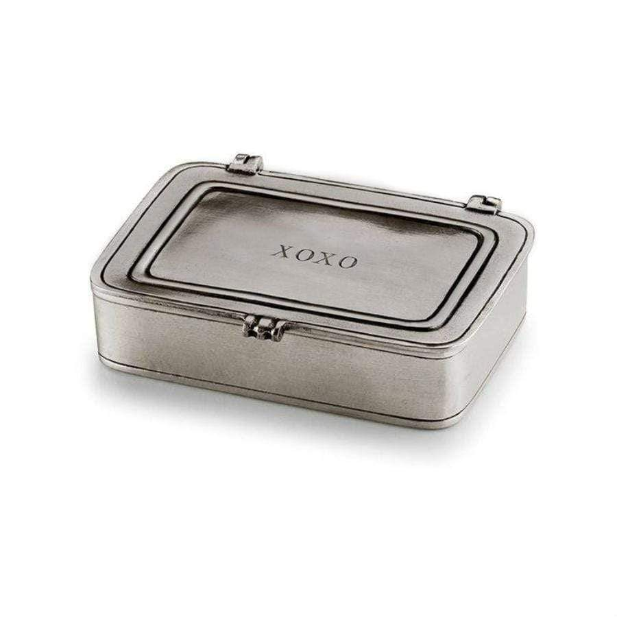 Italian Pewter Box - XOXO