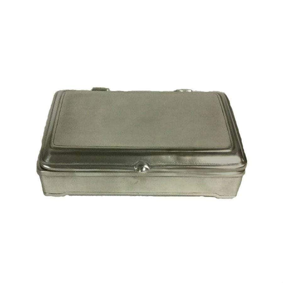 Italian Pewter - Large Rectangle Box