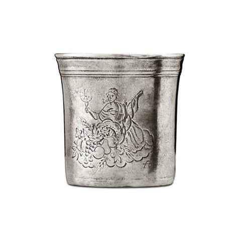Italian Pewter Pencil Cup