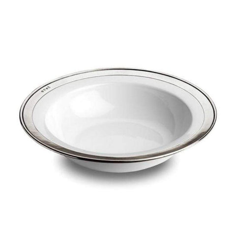 Italian Pewter Serving Bowl