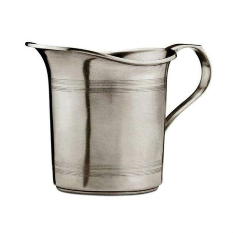 Italian Pewter Water Pitcher