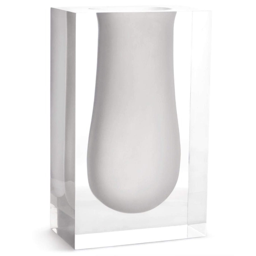 Jonathan Adler Large Bel Air Vase -White