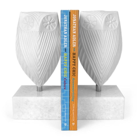 Jonathan Adler Owl Bookend Set