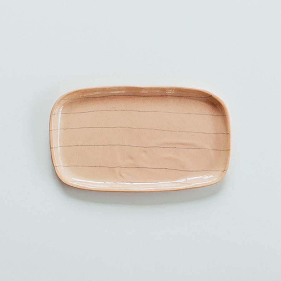 JS Rectangle Platter | Pink