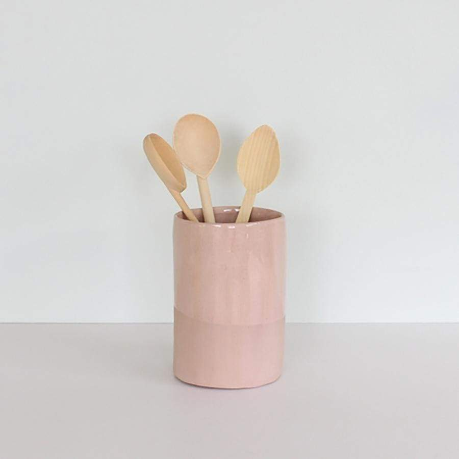 JS Utensil Holder | Pink