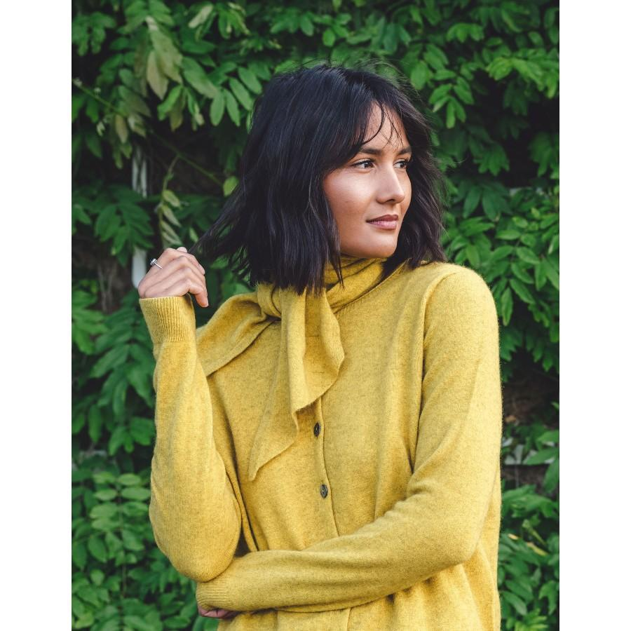 Kapeka | Paua Button Cardigan