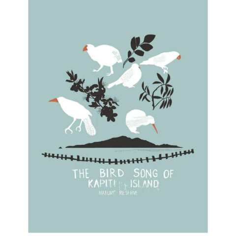 Kapiti Island Print | Wellington New Zealand