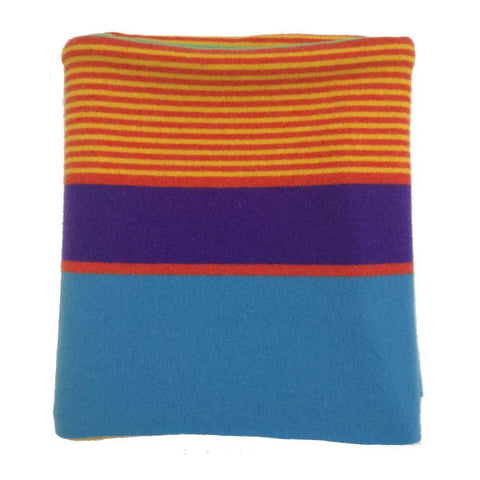 Kelly Lambswool Throw Spectrum