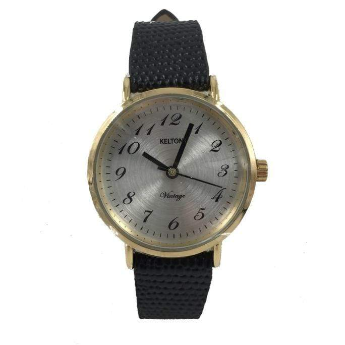Kelton Black + Gold Watch