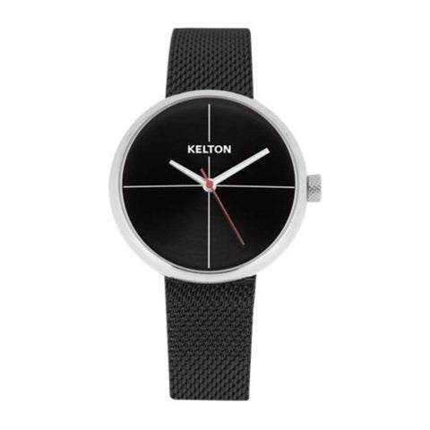 Kelton Black Metal Watch