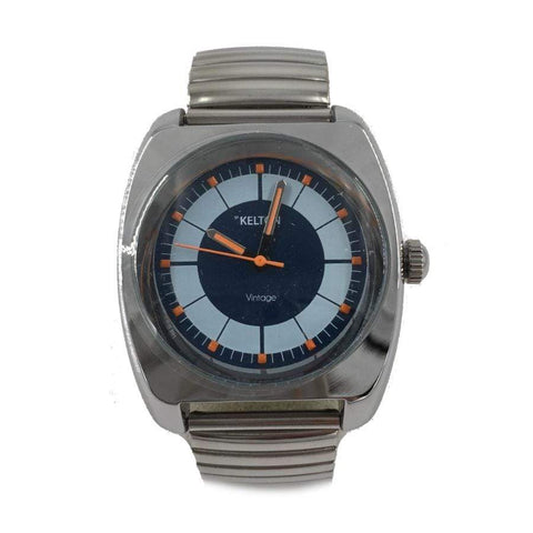 Kelton Chrome Square Watch