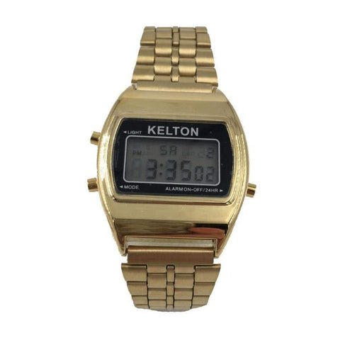 Kelton Gold Metal Watch