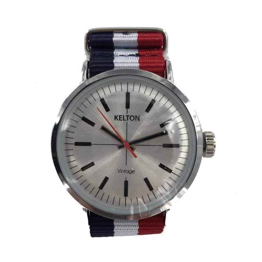 Kelton Red + Navy Watch