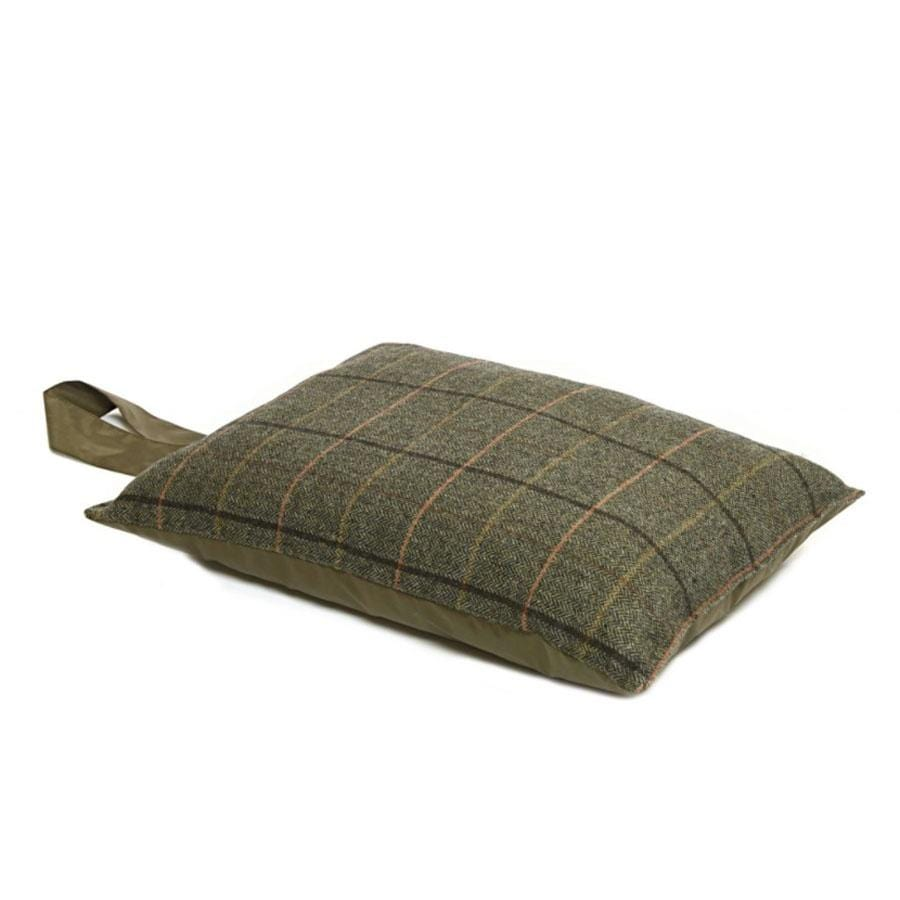 Kneeler Cushion - Tweed Brown